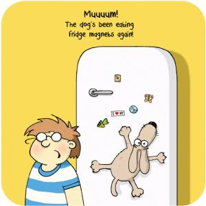 Fridge Magnet Funny Table Coaster